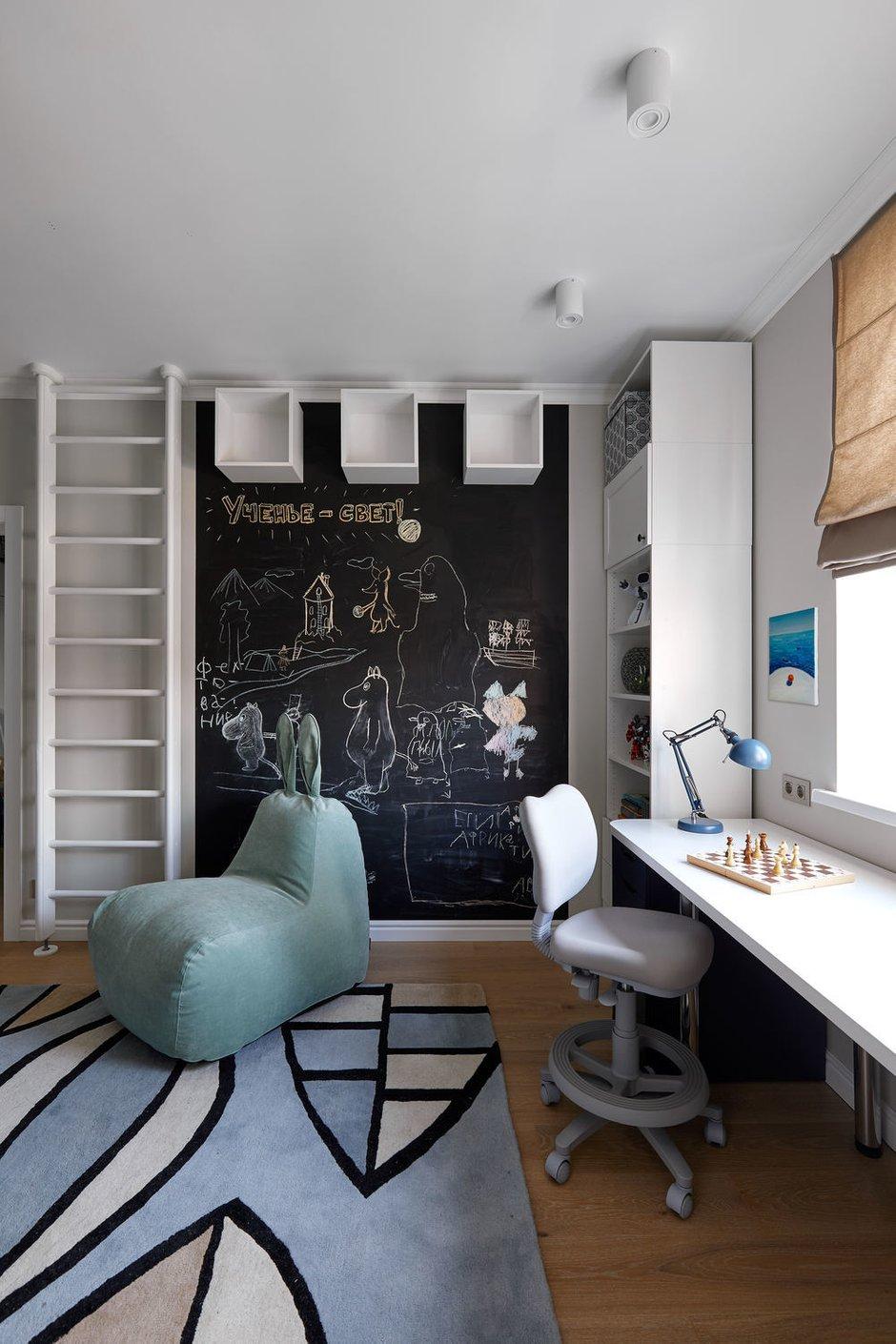 Фотография: Детская в стиле Современный, Квартира, Проект недели, Долгопрудный, 4 и больше, Более 90 метров, Марина Каралкина – фото на INMYROOM
