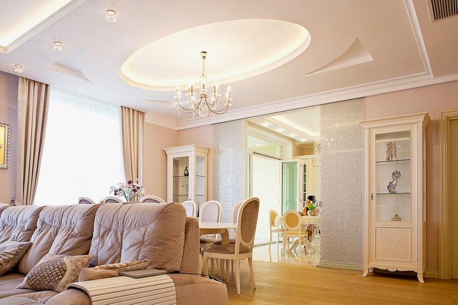 Фотография: Гостиная в стиле Классический, Квартира, Дома и квартиры, Проект недели – фото на INMYROOM