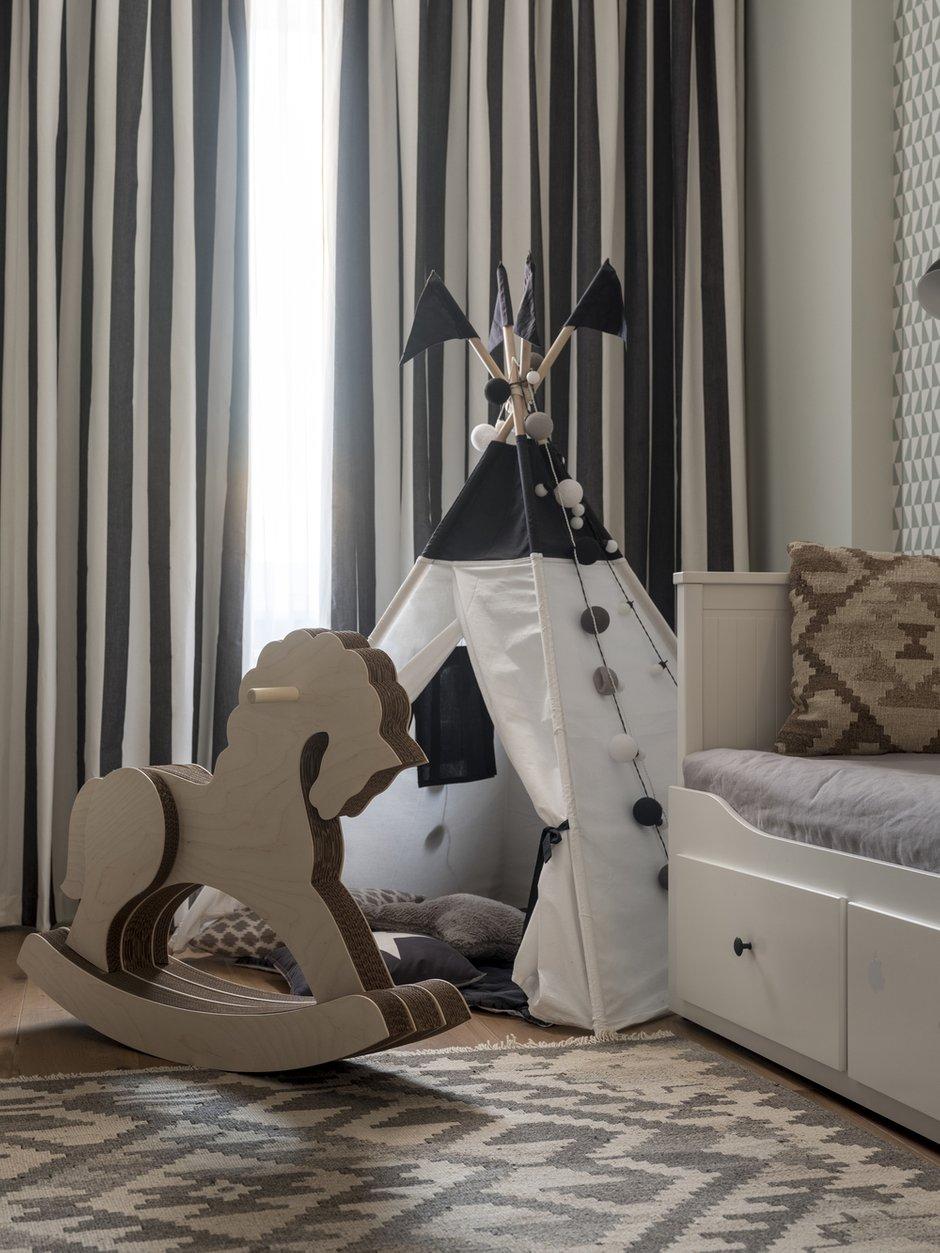 Фотография: Детская в стиле Скандинавский, Квартира, Проект недели, Мила Колпакова, Мытищи, Монолитный дом, 3 комнаты, 60-90 метров, ЖК «Квартал 9-18» – фото на INMYROOM