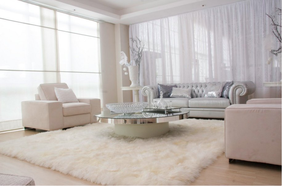 Фотография: Гостиная в стиле Современный, Декор интерьера, Дизайн интерьера, Цвет в интерьере, Белый, Dulux, ColourFutures, Краски – фото на INMYROOM