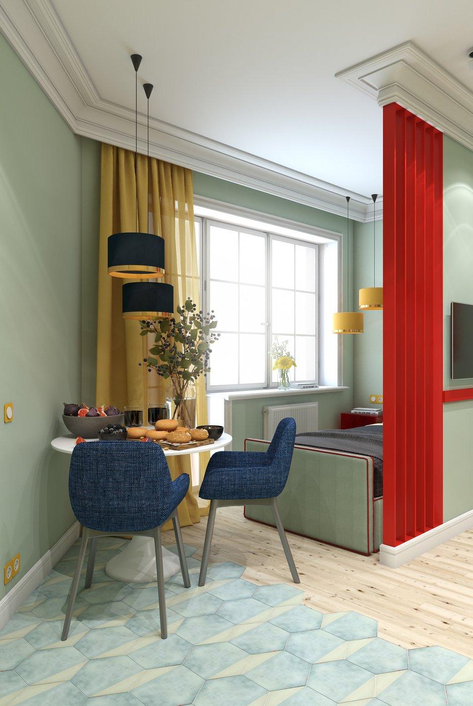 Фотография: Кухня и столовая в стиле Современный, Квартира, Студия, Проект недели, Марина Саркисян, Финляндия, до 40 метров – фото на INMYROOM