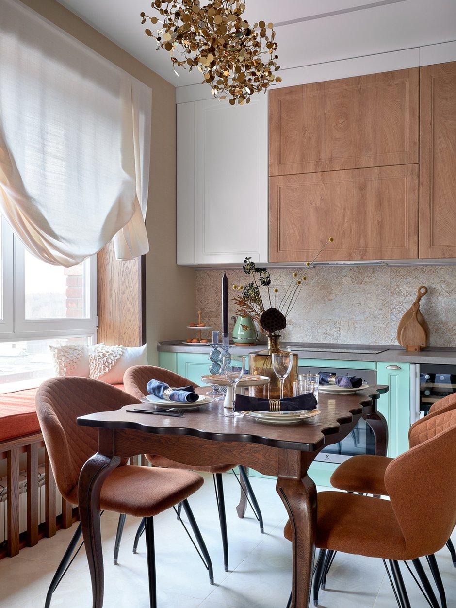 Фотография: Кухня и столовая в стиле Современный, Квартира, Проект недели, Москва, 3 комнаты, 60-90 метров, Евгения Ивлиева – фото на INMYROOM