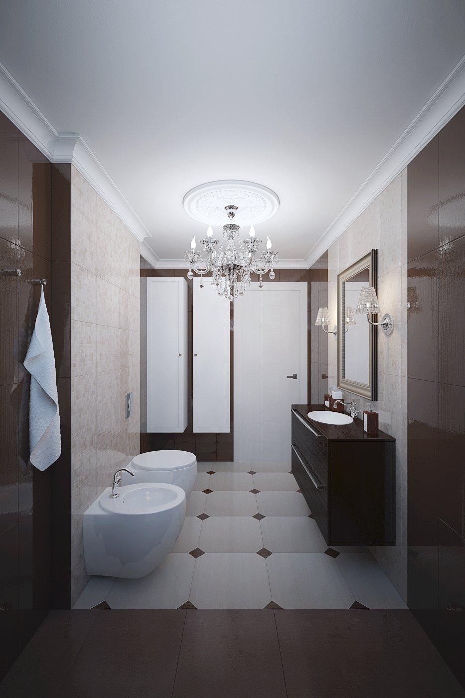 Фотография: Ванная в стиле Классический, Современный, Дом, Цвет в интерьере, Дома и квартиры, Белый, Проект недели – фото на INMYROOM