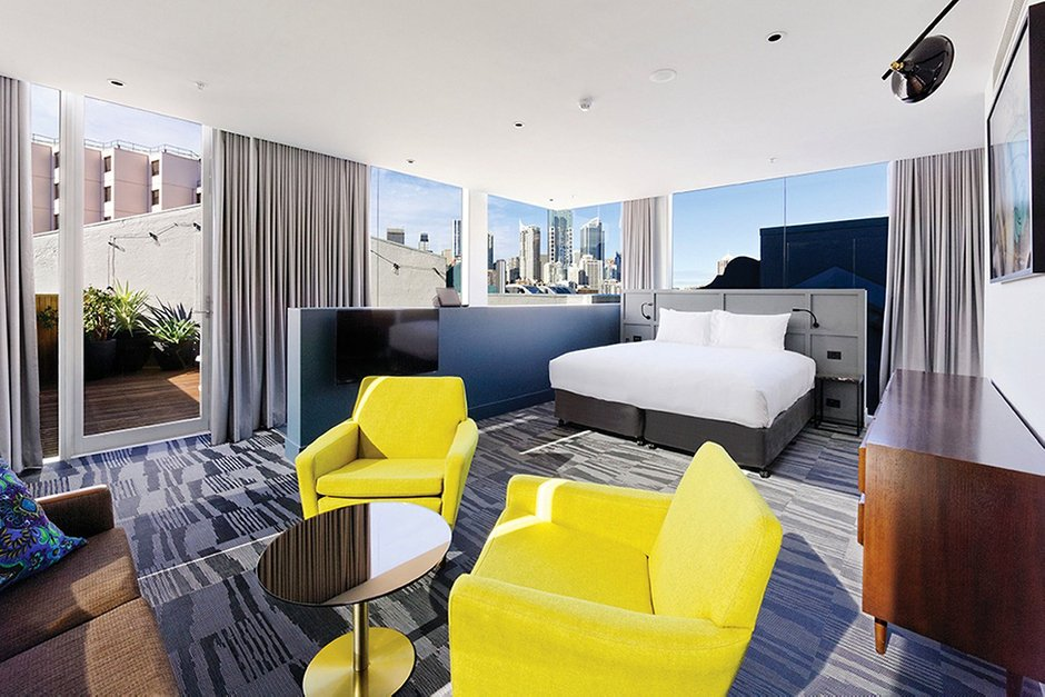 Фотография: Спальня в стиле Современный, Эклектика, Дома и квартиры, Городские места, Отель, Проект недели – фото на INMYROOM