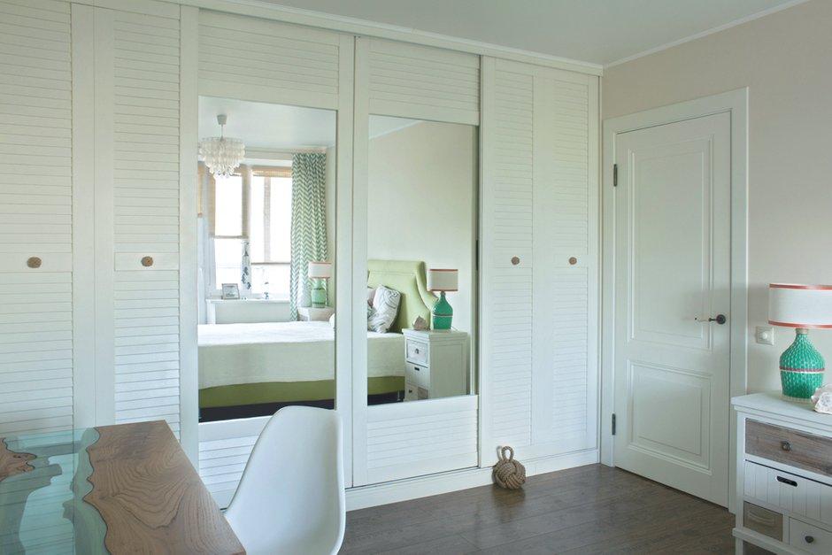 Фотография: Спальня в стиле Скандинавский, Квартира, Проект недели, Москва, Екатерина Чистова – фото на INMYROOM