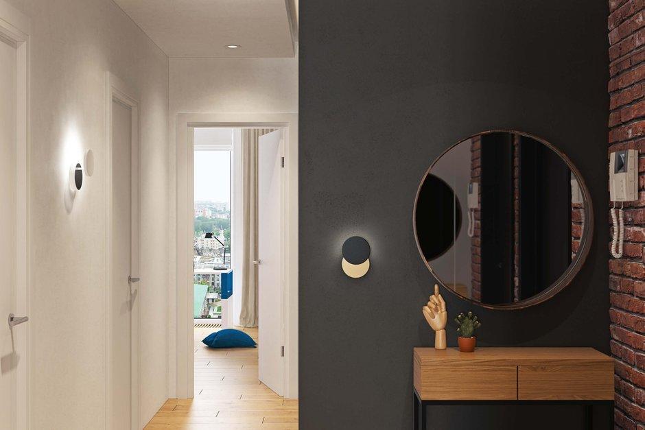 Фотография: Прихожая в стиле Современный, Квартира, Проект недели, Geometrium, Монолитный дом, 3 комнаты, 60-90 метров, ЖК «Арт Casa Luna» – фото на INMYROOM