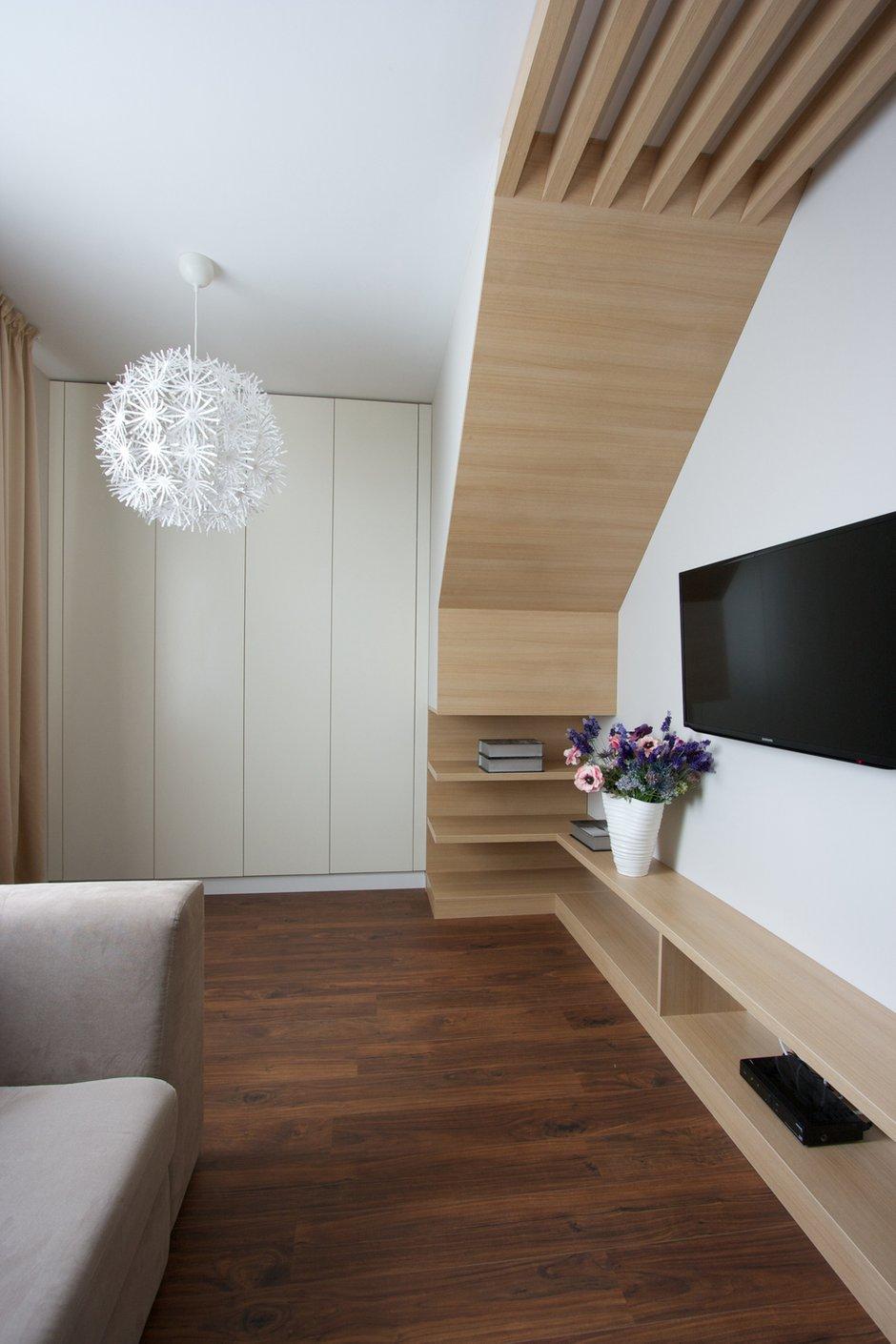 Фотография: Декор в стиле Современный, Дом, Планировки, Мебель и свет, Дома и квартиры, Мансарда – фото на INMYROOM