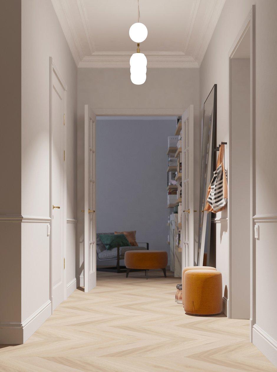 Фотография: Прихожая в стиле Современный, Квартира, Проект недели, Санкт-Петербург, 2 комнаты, 40-60 метров, Bobo.space – фото на INMYROOM