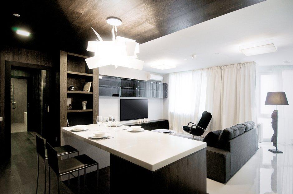 Фотография: Гостиная в стиле Лофт, Современный, Квартира, Дома и квартиры, IKEA, Проект недели – фото на INMYROOM