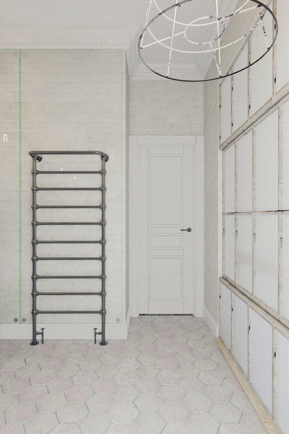 Фотография: Спальня в стиле Лофт, Квартира, Цвет в интерьере, Дома и квартиры, Белый – фото на INMYROOM