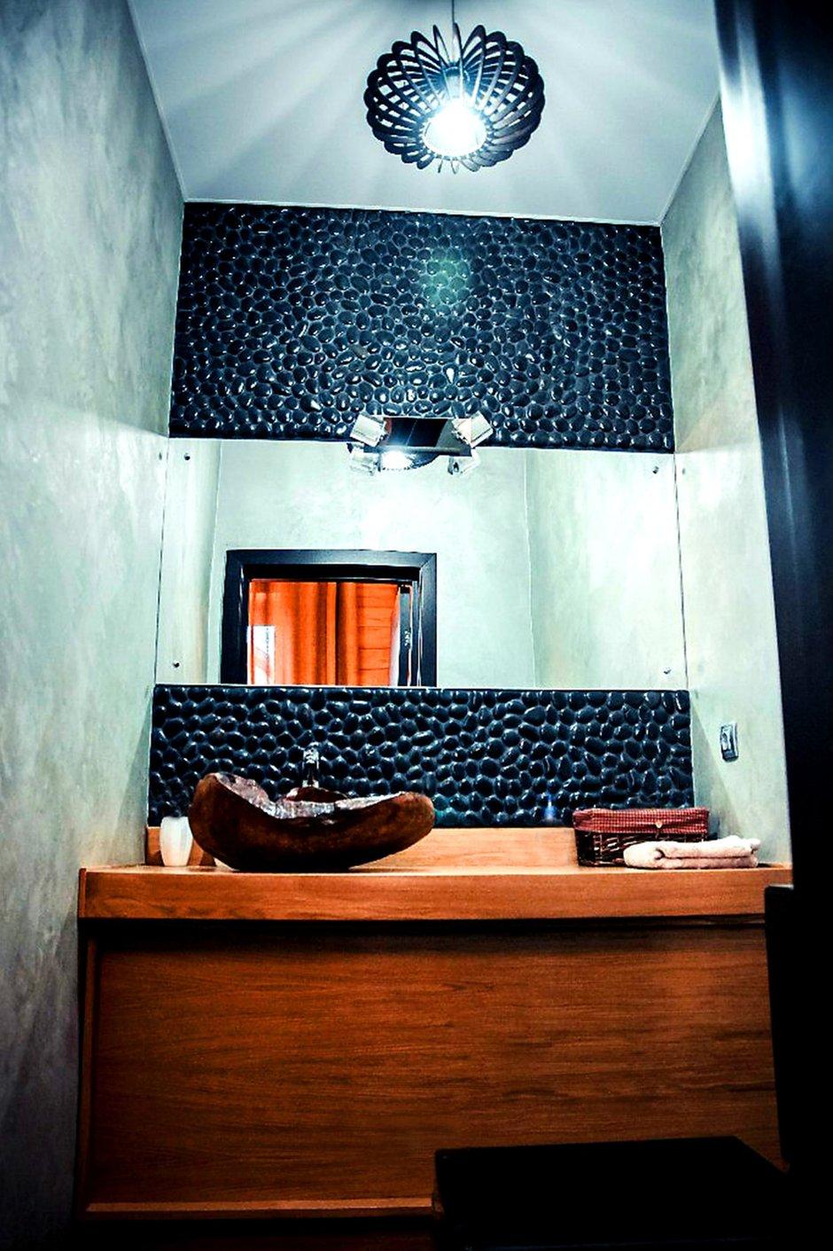 Фотография: Ванная в стиле Лофт, Дом, Дома и квартиры, Шале – фото на INMYROOM