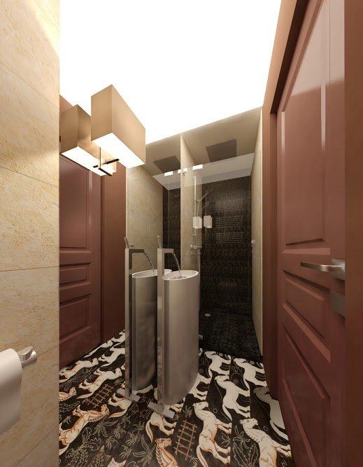 Фотография: Ванная в стиле Современный, Квартира, Дома и квартиры, Проект недели, Москва – фото на INMYROOM