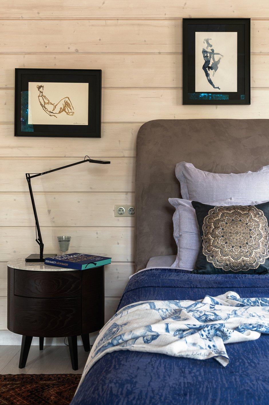 Фотография: Спальня в стиле Скандинавский, Эклектика, Дом, Проект недели, Более 90 метров, Дарья Сиротина, Roomer – фото на INMYROOM