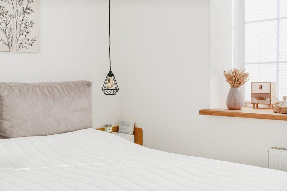 Фотография: Спальня в стиле Скандинавский, Современный, Проект недели, Холодильник, Дом и дача, Samsung, Таунхаус, 4 и больше, Более 90 метров – фото на INMYROOM