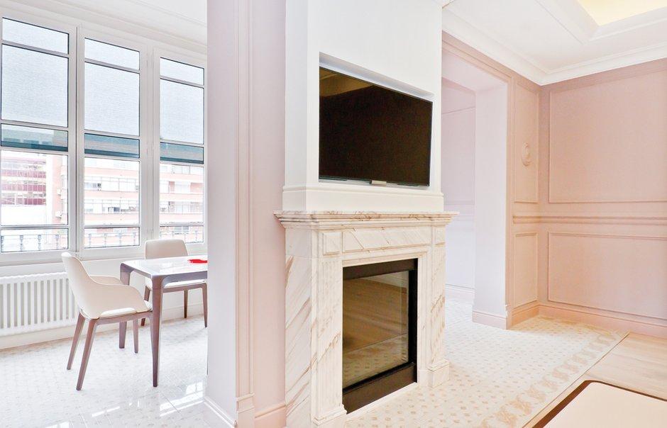 Фотография: Гостиная в стиле Скандинавский, Квартира, Дома и квартиры, Перепланировка, Барселона, Модерн – фото на INMYROOM
