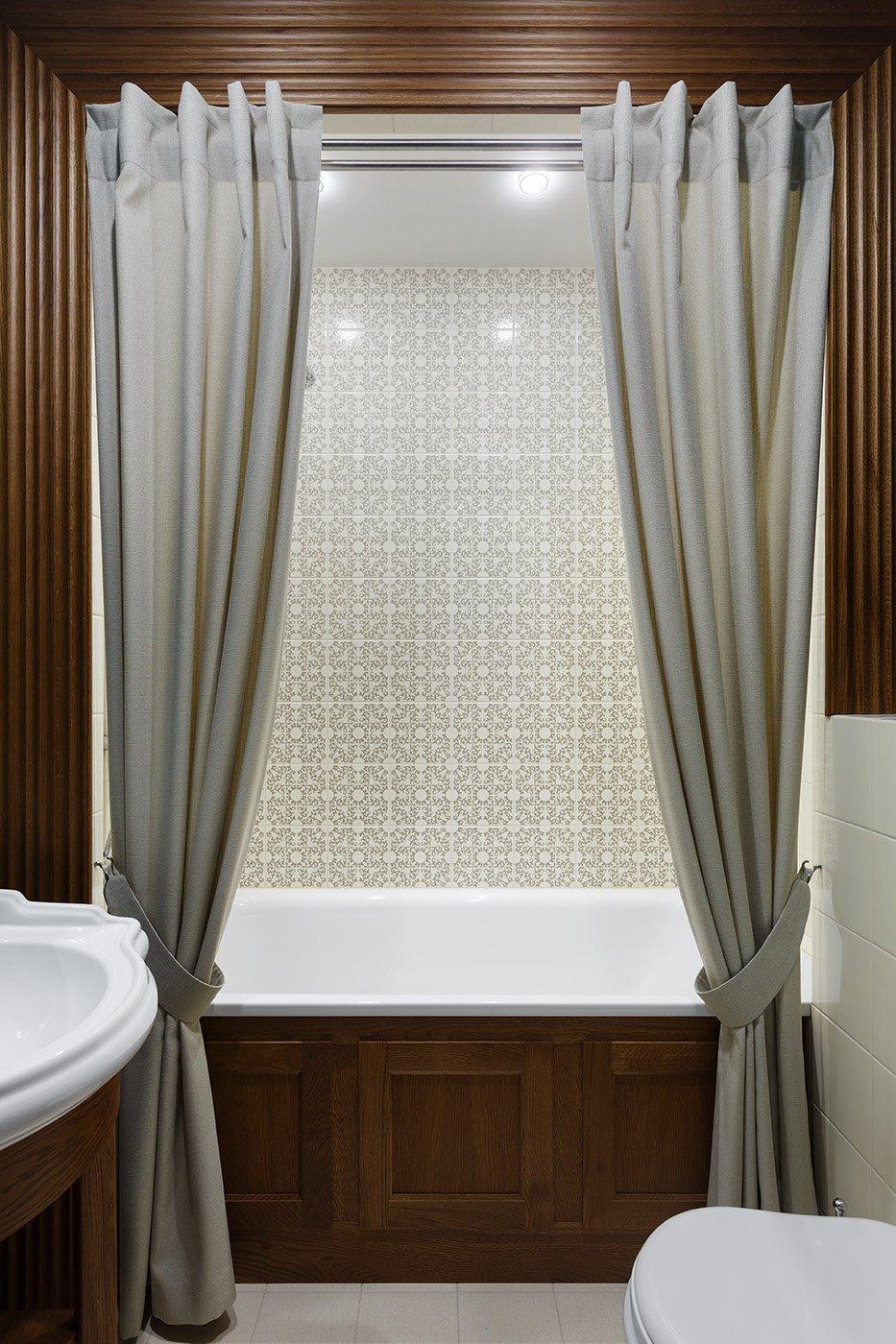 Фотография: Ванная в стиле Современный, Квартира, Проект недели, Санкт-Петербург, Монолитный дом, 4 и больше, Более 90 метров, Дизайн-Холл – фото на INMYROOM