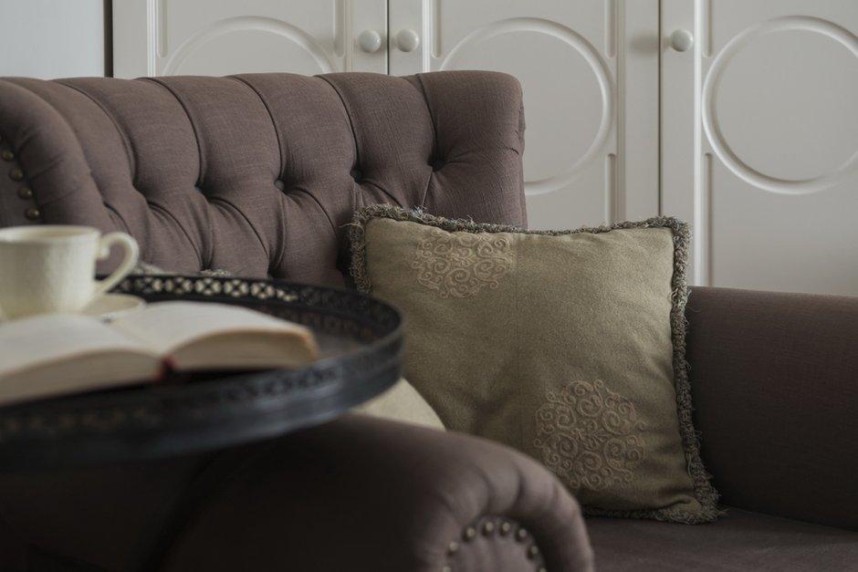 Фотография: Гостиная в стиле Современный, Эклектика, Декор интерьера, Мебель и свет, Проект недели, Лена Ленских – фото на INMYROOM