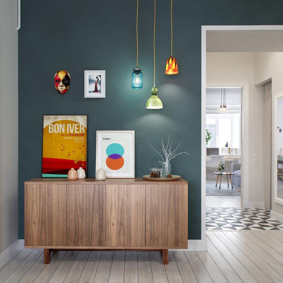 Фотография: Прихожая в стиле Лофт, Скандинавский, Квартира, Дома и квартиры, Проект недели – фото на INMYROOM