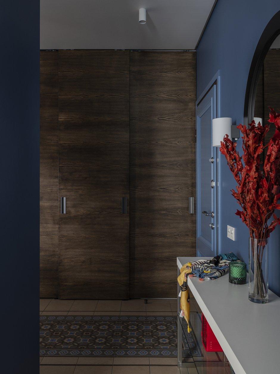 Фотография: Прихожая в стиле Современный, Квартира, Проект недели, Москва, Монолитный дом, 4 и больше, 60-90 метров, Ольга Рудакова – фото на INMYROOM