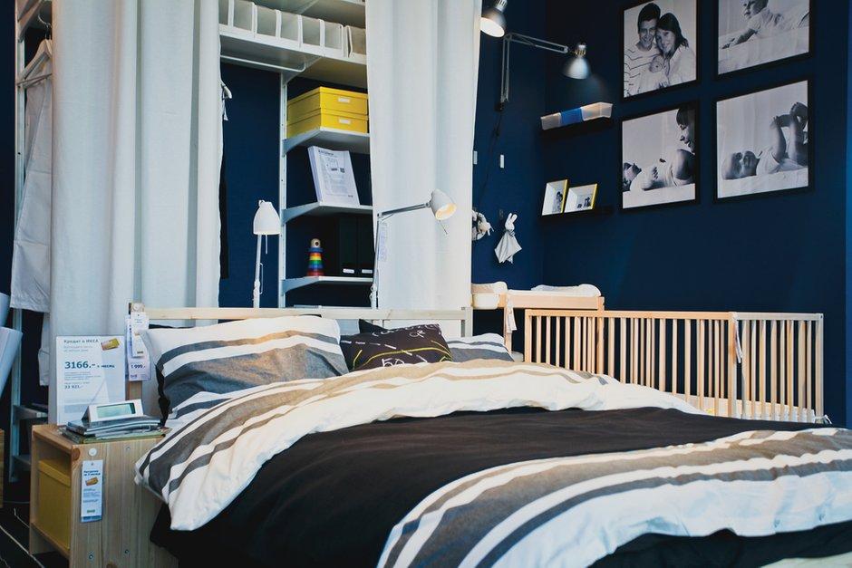 Фотография: Спальня в стиле Лофт, Индустрия, События, IKEA, Маркет – фото на InMyRoom.ru