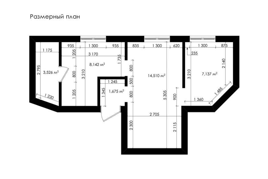 Фотография: Планировки в стиле , Малогабаритная квартира, Квартира, Проект недели, Марина Саркисян, Хельсинки, 2 комнаты, до 40 метров – фото на INMYROOM