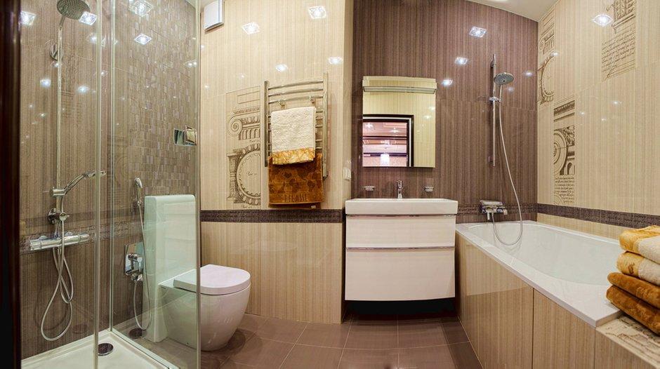 Фотография: Ванная в стиле Современный, Квартира, Дома и квартиры, Ар-деко, Неоклассика – фото на INMYROOM