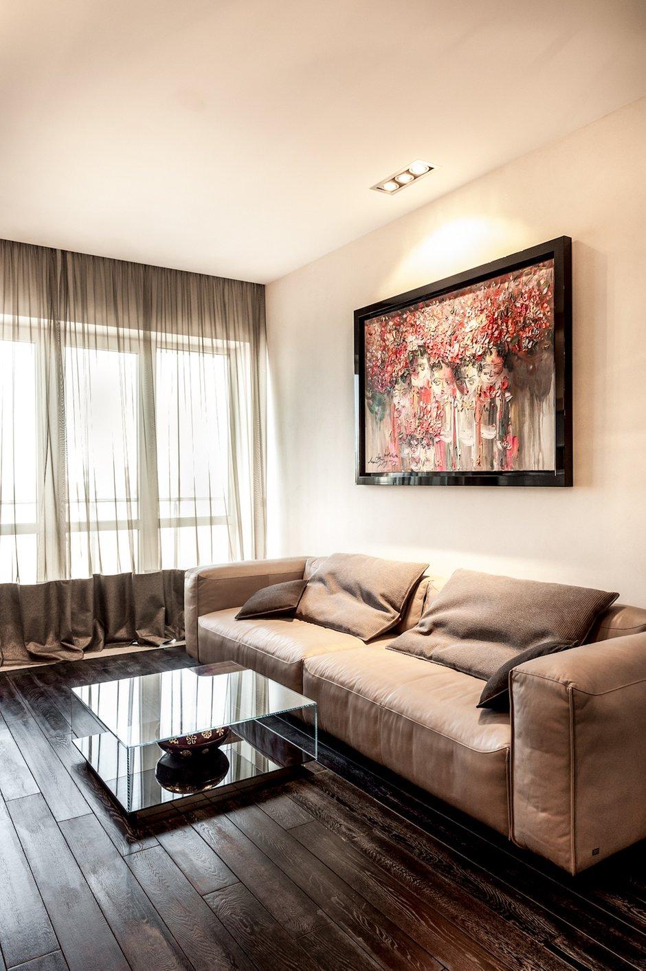 Фотография: Гостиная в стиле Современный, Квартира, Дома и квартиры, Roommy.ru, Porada – фото на INMYROOM