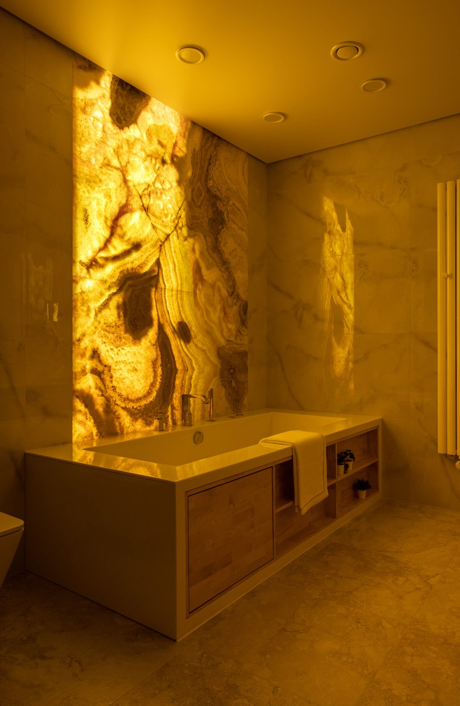 Фотография: Ванная в стиле Современный, Квартира, Проект недели, Москва, Ирина Васильева, 3 комнаты, Более 90 метров – фото на INMYROOM