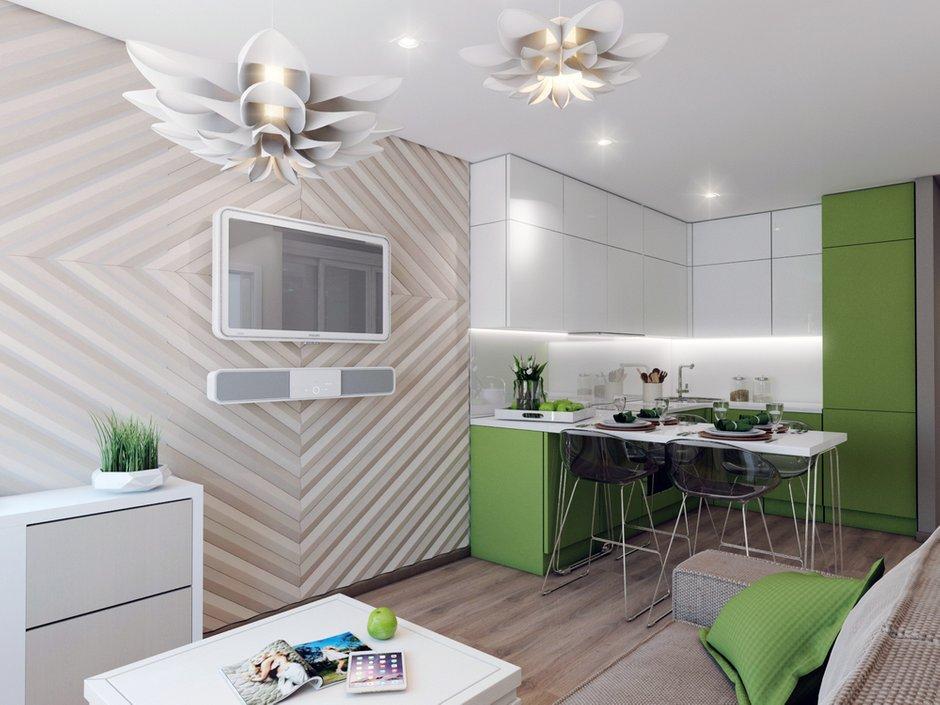 Фотография: Кухня и столовая в стиле Современный, Квартира, Россия, Проект недели, Новая Москва – фото на INMYROOM