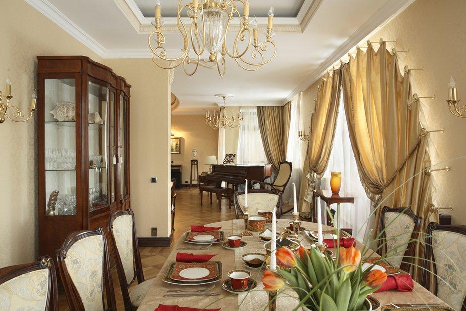 Фотография: Кухня и столовая в стиле Классический, Современный, Квартира, Дома и квартиры, Модерн, Ар-нуво – фото на INMYROOM