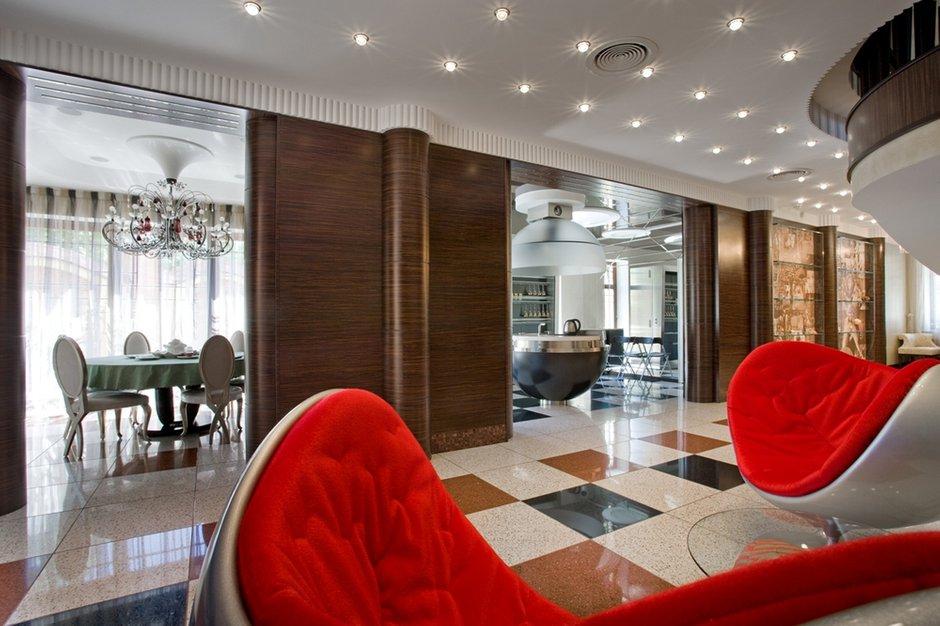 Фотография:  в стиле Современный, Эклектика, Дом, Дома и квартиры, Ар-деко – фото на InMyRoom.ru