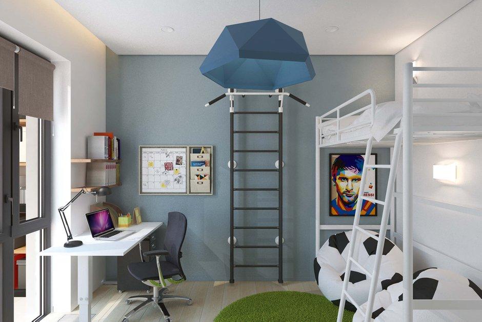 Фотография: Детская в стиле Современный, Квартира, Проект недели, Geometrium – фото на INMYROOM