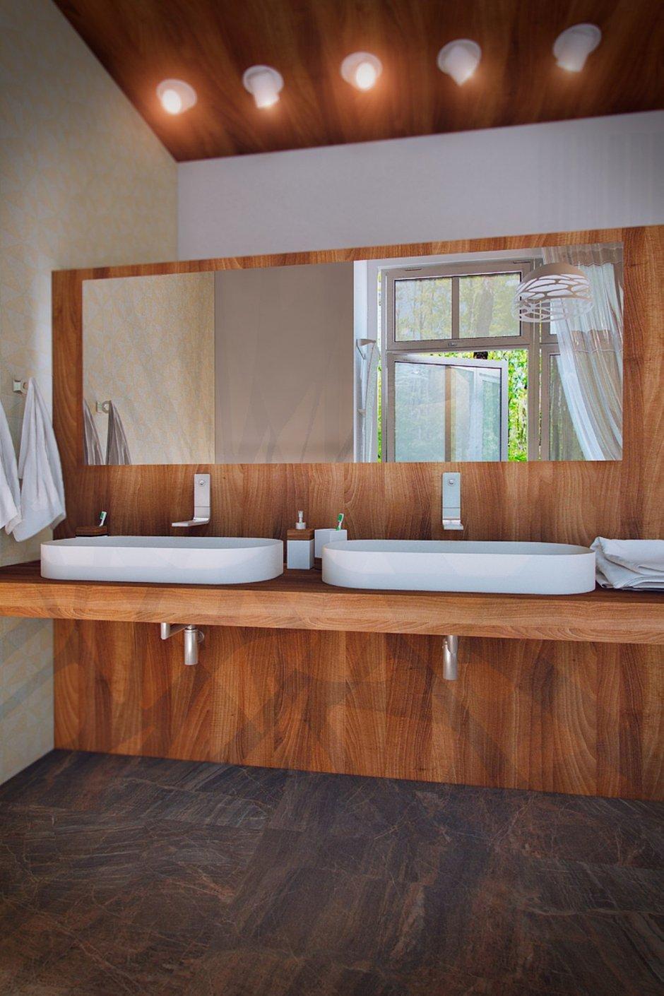 Фотография: Ванная в стиле Лофт, Эклектика, Дом, Минимализм, Проект недели, Эко – фото на INMYROOM