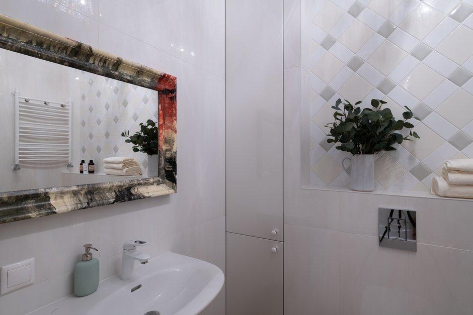Фотография: Ванная в стиле Современный, Квартира, Проект недели, Самара, Кирпичный дом, 4 и больше, Более 90 метров, Lumus Design, Любовь Пивоварова – фото на INMYROOM