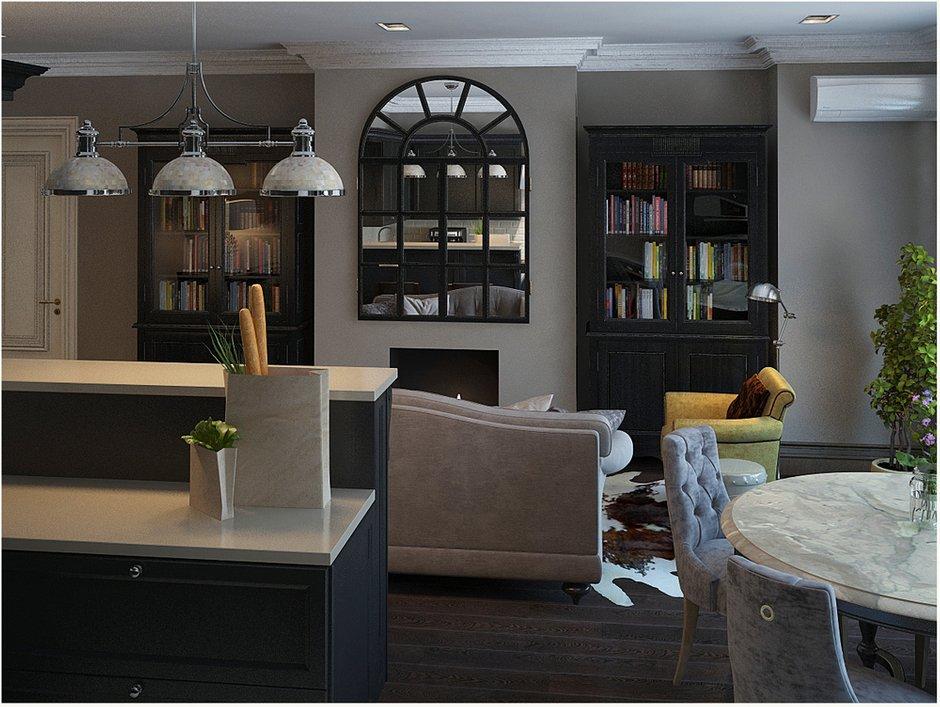 Фотография: Прочее в стиле , Квартира, Цвет в интерьере, Дома и квартиры, Проект недели, Серый – фото на INMYROOM