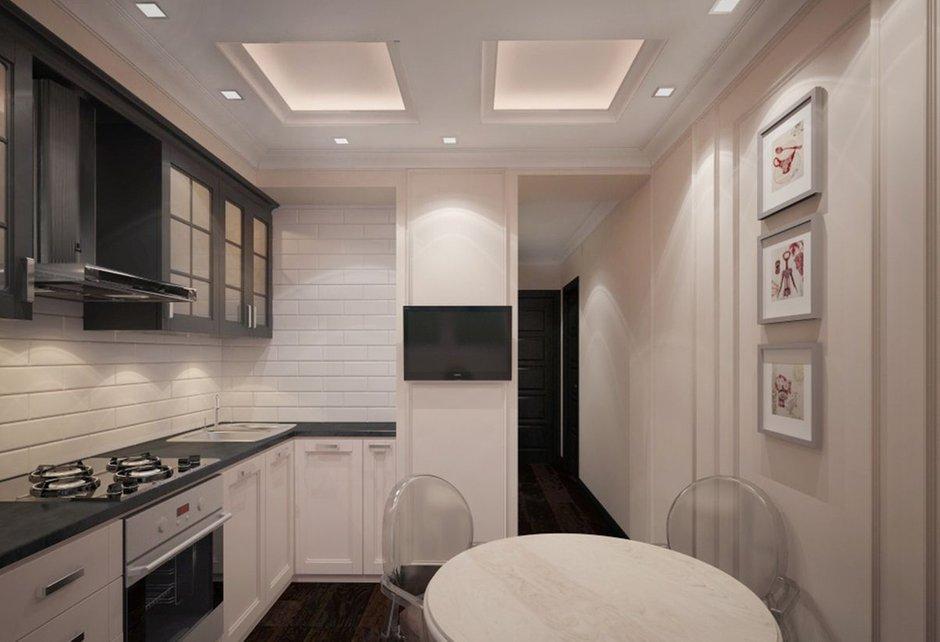 Фотография: Кухня и столовая в стиле Прованс и Кантри, Эклектика, Классический, Квартира, Проект недели – фото на INMYROOM