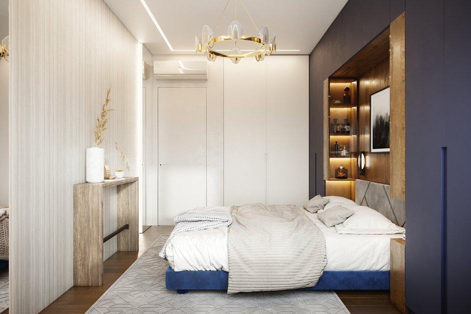 Фотография: Спальня в стиле Современный, Квартира, Проект недели, Москва, 4 и больше, 60-90 метров, Более 90 метров, Levitorria, Полина Тимонич – фото на INMYROOM