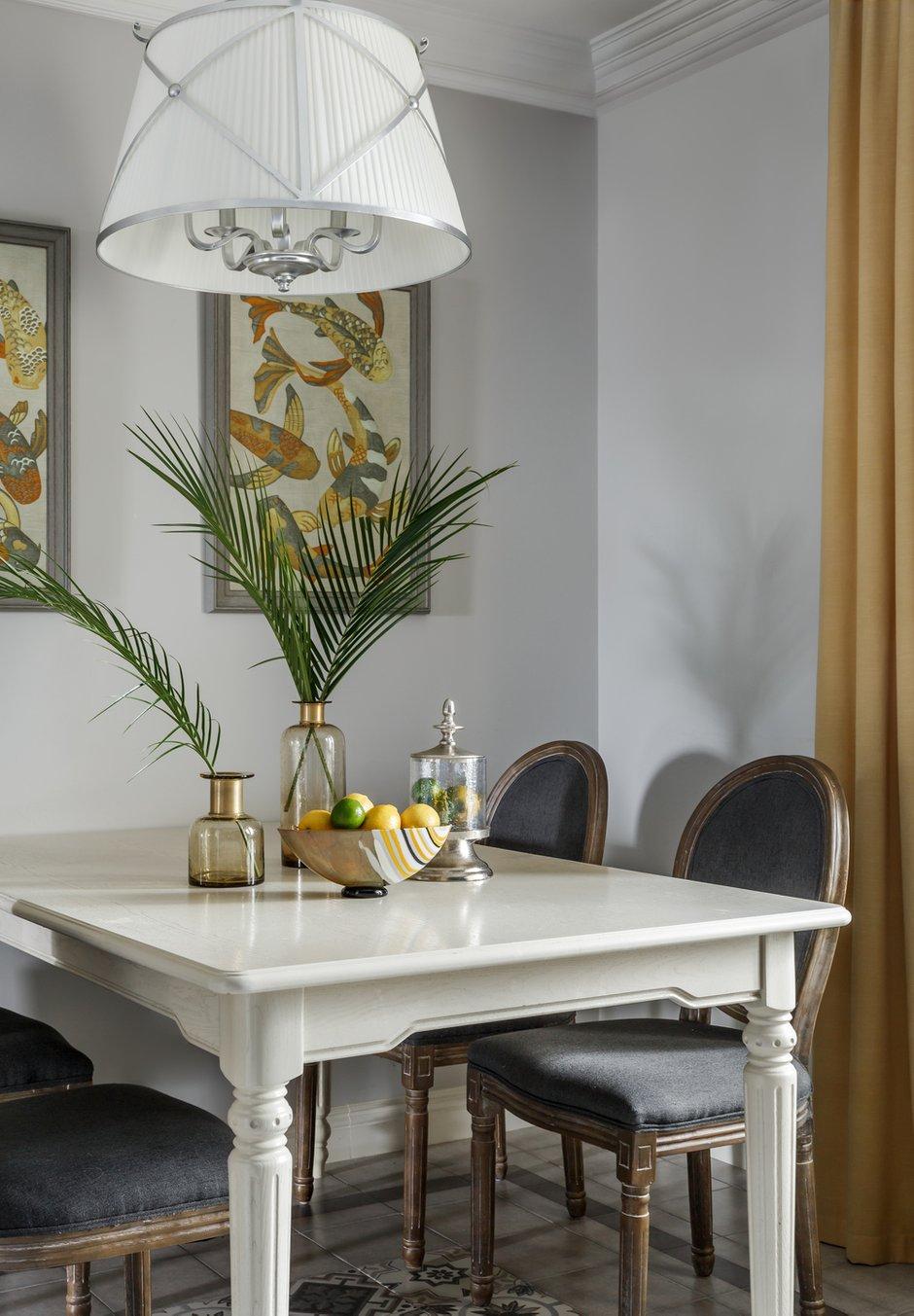 Фотография: Кухня и столовая в стиле Прованс и Кантри, Квартира, Проект недели, Москва, NW-Interior, Монолитный дом, 4 и больше, Более 90 метров – фото на INMYROOM