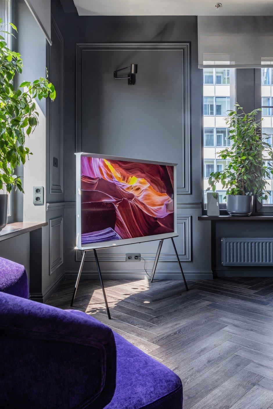 Фотография: Гостиная в стиле Современный, Квартира, Проект недели, Москва, Buro Brainstorm, 3 комнаты, 60-90 метров – фото на INMYROOM