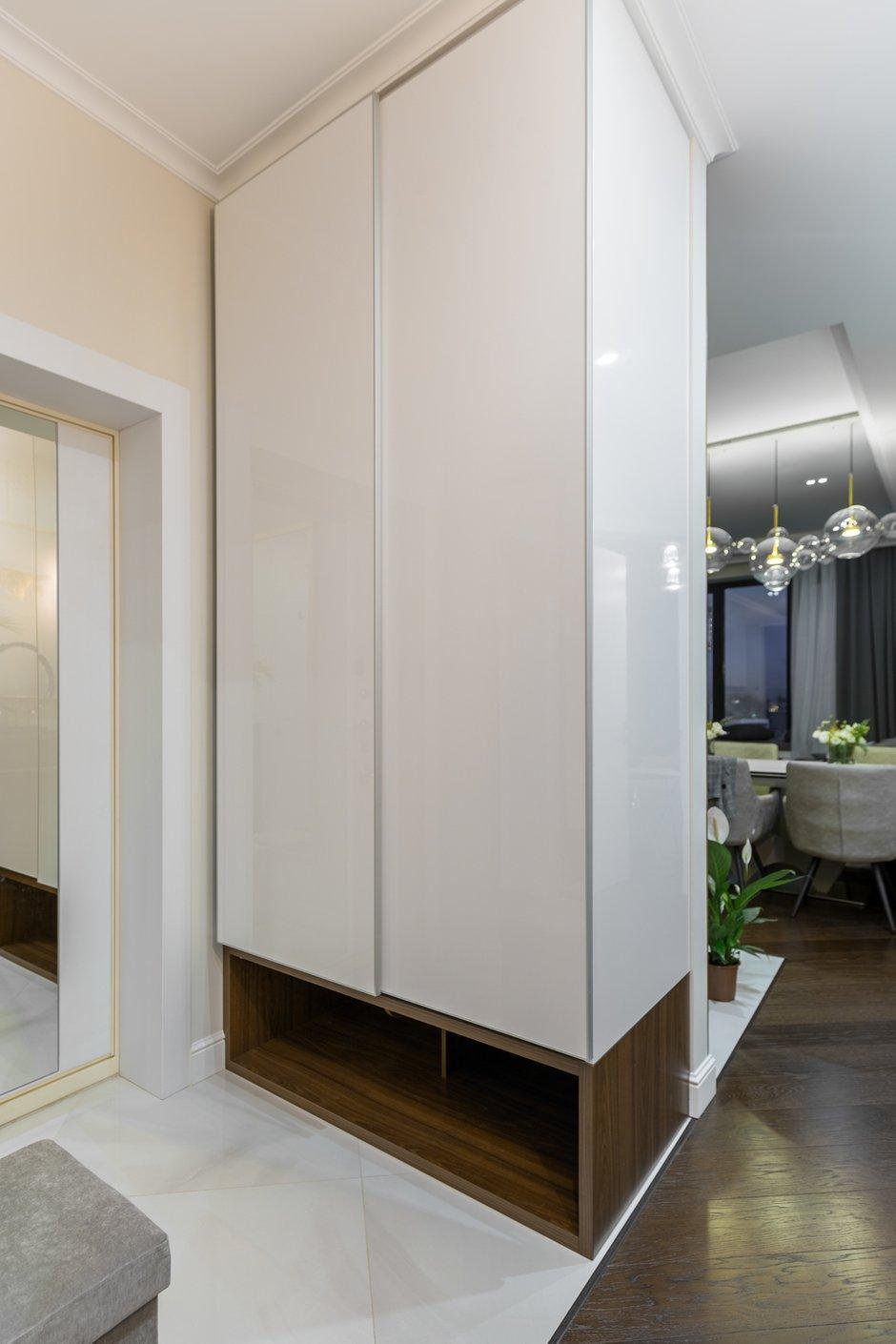 Фотография: Прихожая в стиле Современный, Квартира, Проект недели, Москва, 3 комнаты, 60-90 метров, Анастасия Бондарева – фото на INMYROOM