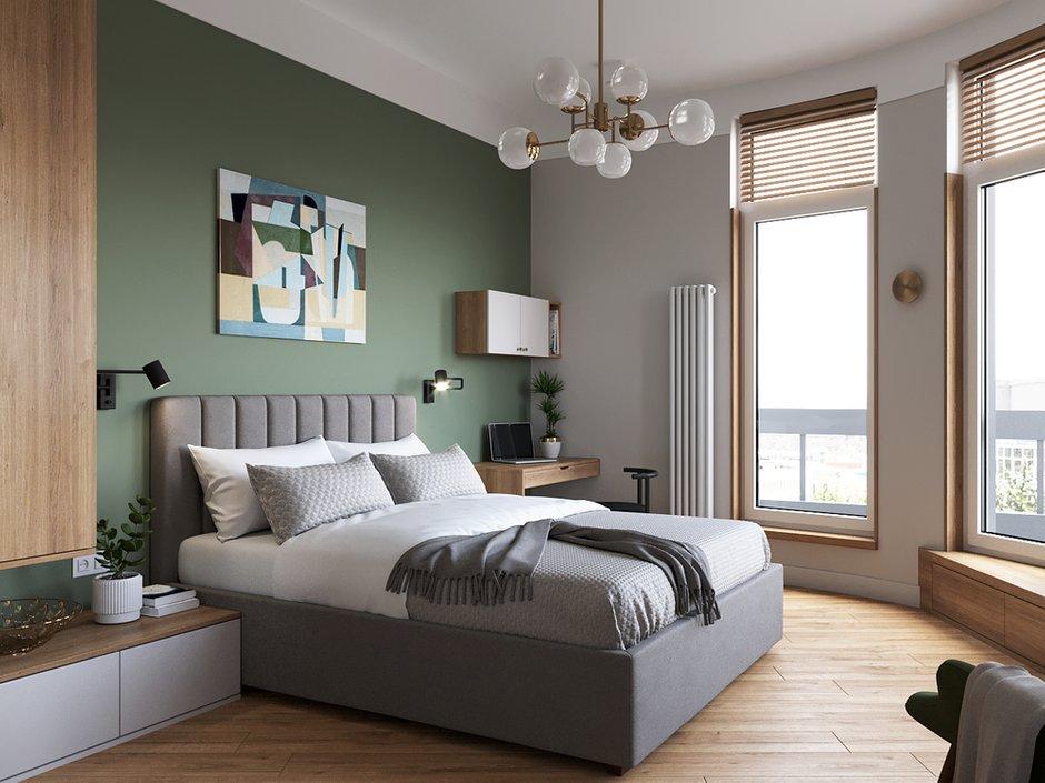 Фотография: Спальня в стиле Современный, Квартира, Проект недели, Санкт-Петербург, Студия Малицких, 1 комната, 40-60 метров, ПРЕМИЯ INMYROOM – фото на INMYROOM