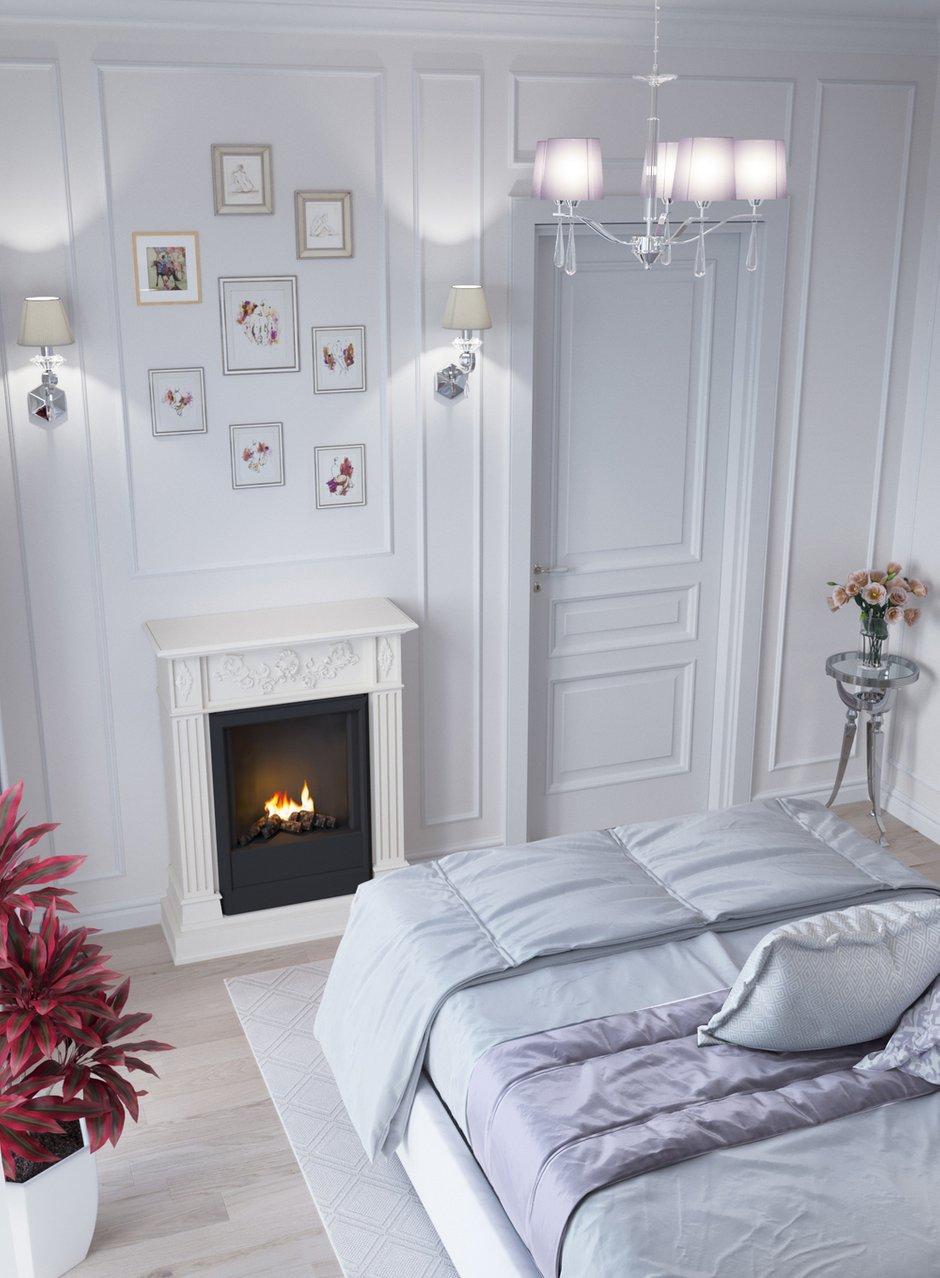 Фотография: Спальня в стиле Классический, Квартира, Проект недели, Новая Москва, Монолитный дом, 2 комнаты, 40-60 метров, Александра Гартке, ЖК «Новая Звезда» – фото на INMYROOM