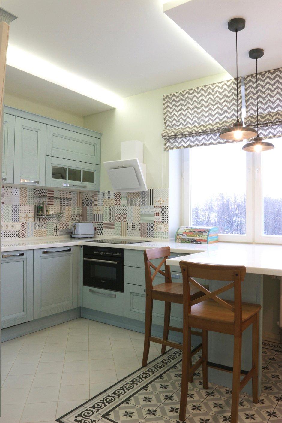 Фотография: Кухня и столовая в стиле Скандинавский, Квартира, Проект недели, Химки, SPACE4LIFE – фото на INMYROOM