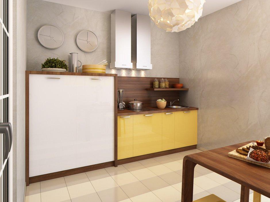 Фотография: Кухня и столовая в стиле Лофт, Современный, Квартира, Проект недели – фото на INMYROOM