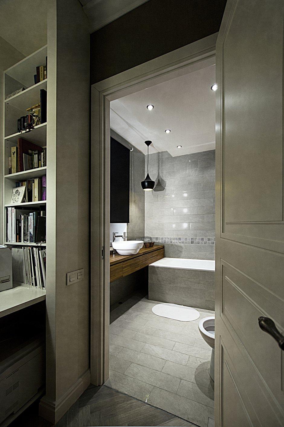 Фотография: Ванная в стиле , Современный, Квартира, Дома и квартиры, Проект недели – фото на INMYROOM