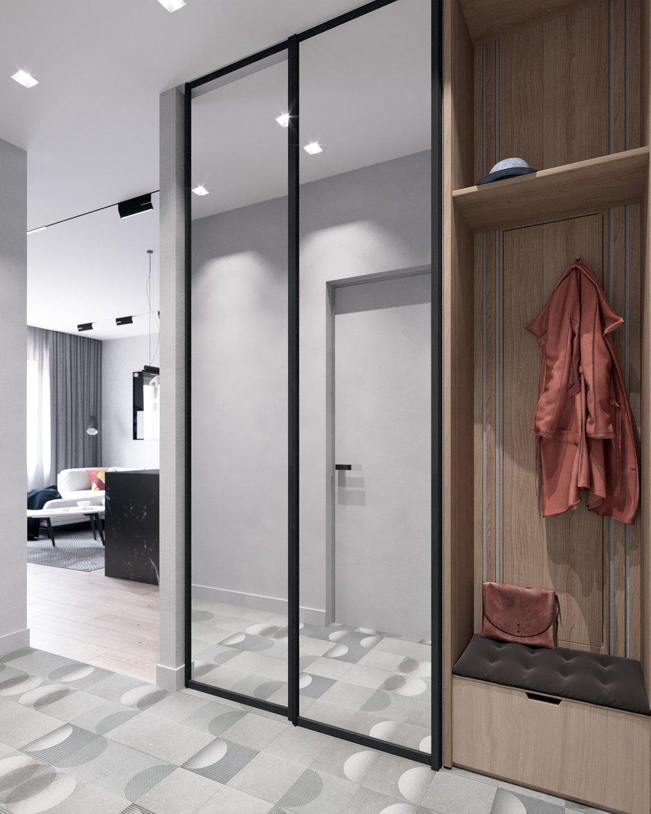 Фотография:  в стиле , Современный, Малогабаритная квартира, Квартира, Проект недели, Москва, 2 комнаты, до 40 метров, Люся Баушева – фото на INMYROOM