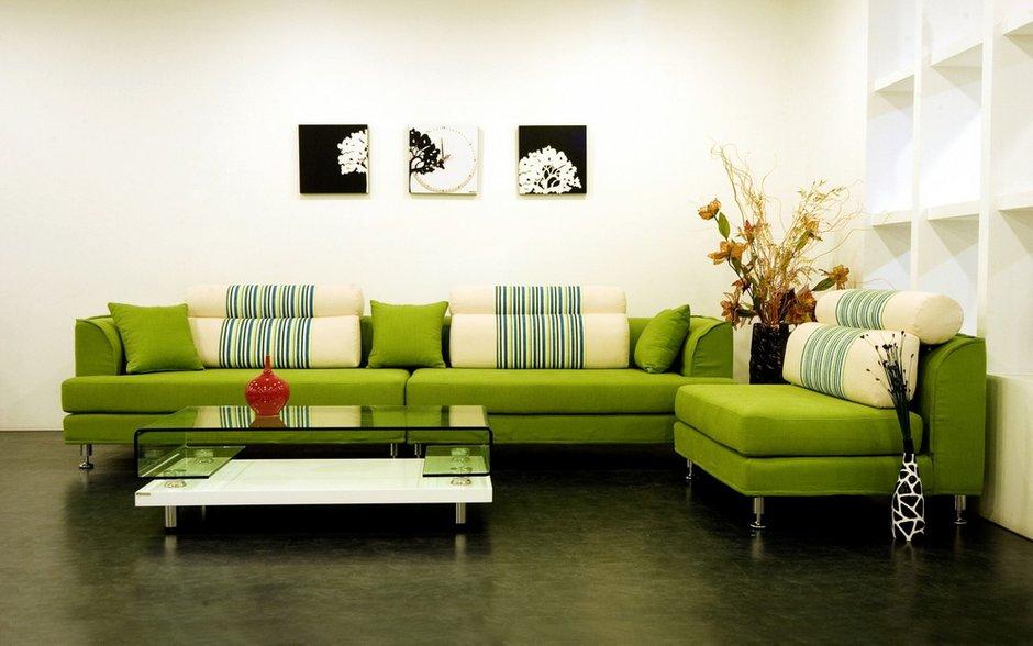Фотография: Гостиная в стиле Современный, Декор интерьера, Квартира, Дизайн интерьера, Цвет в интерьере – фото на INMYROOM