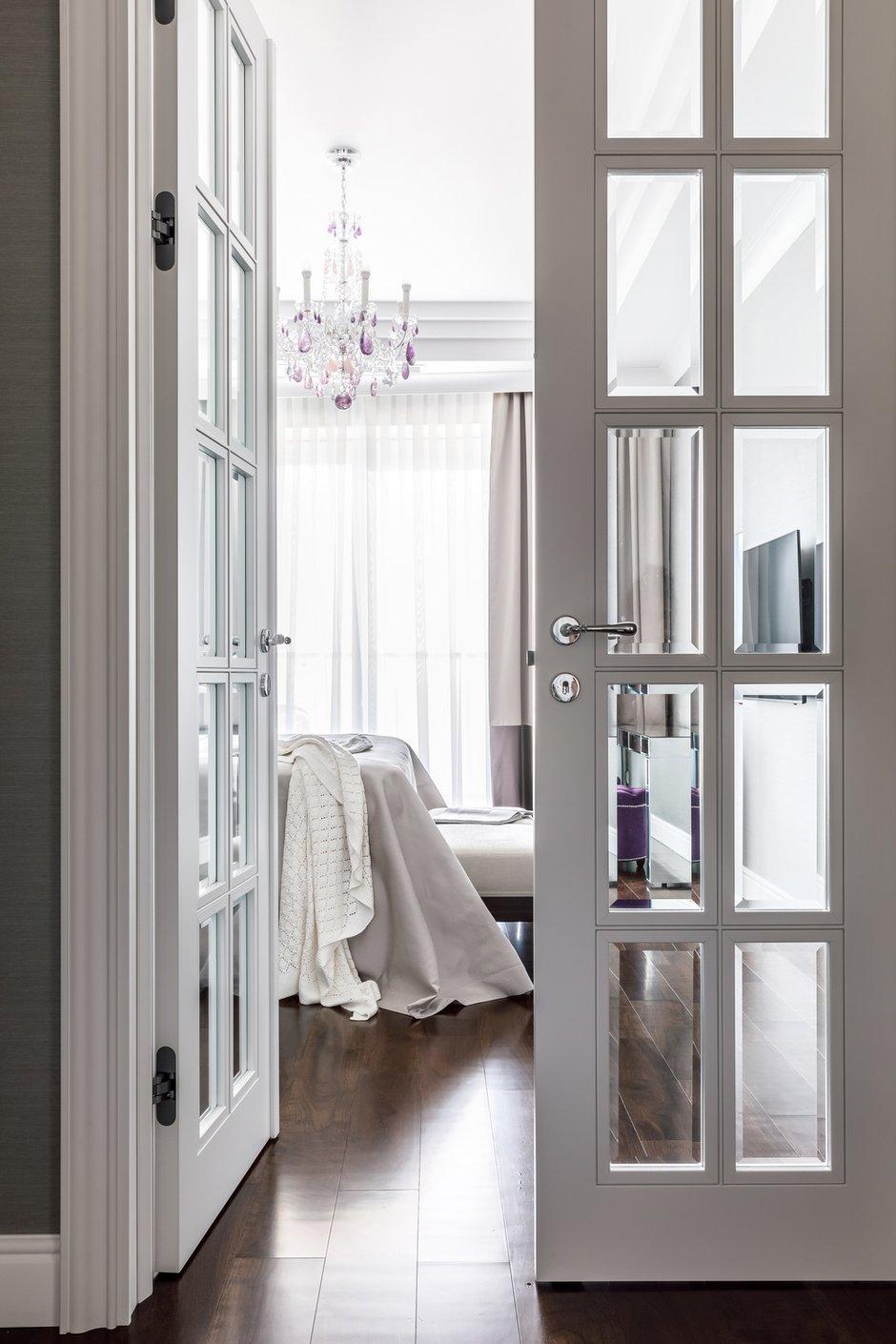 Фотография: Спальня в стиле Классический, Современный, Квартира, Проект недели, Сочи, Лидия Большакова, Монолитный дом, 4 и больше, Более 90 метров, #эксклюзивныепроекты – фото на INMYROOM