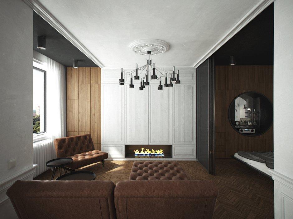 Фотография: Гостиная в стиле Современный, Эклектика,  – фото на INMYROOM