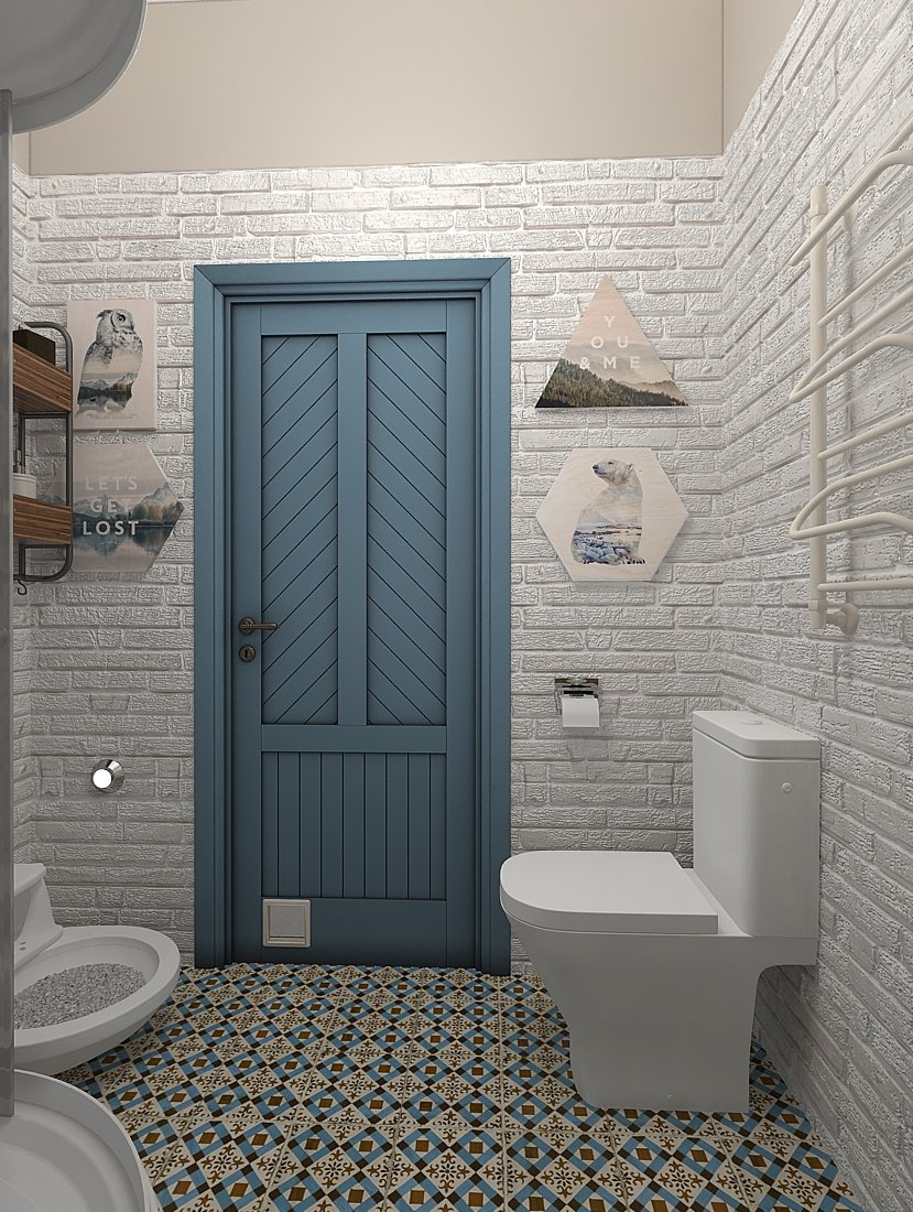 Фотография: Ванная в стиле Скандинавский, Квартира, Проект недели, Zi-Design Interiors – фото на INMYROOM